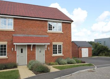 Thumbnail 2 bedroom semi-detached house for sale in Moss Close, Wells