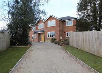 Thumbnail 5 bed detached house for sale in Newcastle Road, Congleton