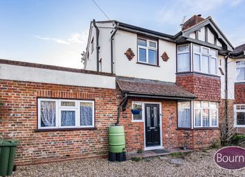 Thumbnail 4 bed semi-detached house for sale in Stockers Lane, Woking