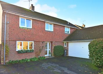 Thumbnail 4 bed detached house for sale in Lipscomb Close, Hermitage, Thatcham