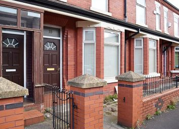 Thumbnail 3 bed terraced house for sale in Crofton Street, Rusholme, Manchester