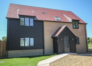 Thumbnail 4 bedroom detached house for sale in Lower Road, Wicken, Ely