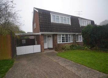 Thumbnail 3 bed semi-detached house to rent in Kingsdown Close, Earley, Reading