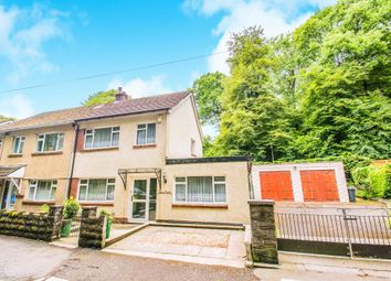 Thumbnail 3 bed semi-detached house for sale in Main Road, Gwaelod-Y-Garth, Cardiff