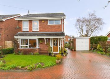 Thumbnail 3 bed detached house for sale in Caughley Close, Broseley