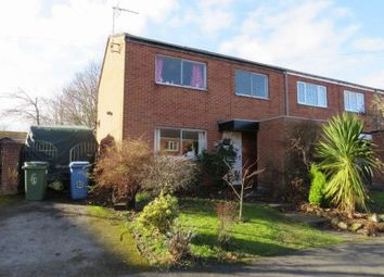 Thumbnail 3 bed end terrace house for sale in Silverdale Close, Retford
