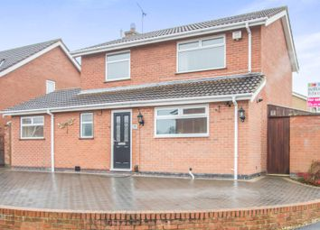Thumbnail 3 bed detached house for sale in Padgate Close, Scraptoft, Leicester