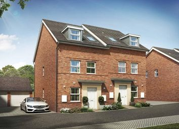 "Thumbnail 3 bedroom semi-detached house for sale in ""Norbury"" at Briggington, Leighton Buzzard"