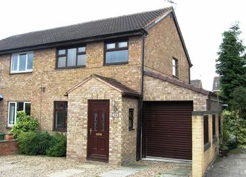 Thumbnail 3 bed semi-detached house to rent in Kidsley Close, Linacre Woods, Chesterfield, Derbyshire