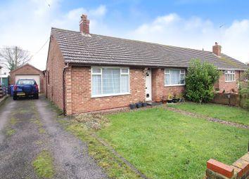 Thumbnail 3 bedroom semi-detached bungalow for sale in Rounces Lane, Carlton Colville, Lowestoft