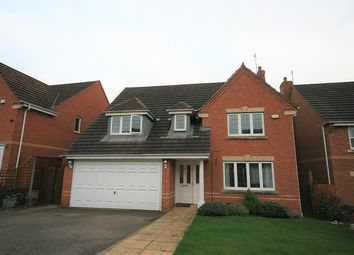 Thumbnail 4 bedroom detached house for sale in Roman Close, Wootton, Northampton