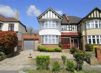 Thumbnail 3 bed semi-detached house for sale in Minchenden Crescent, London