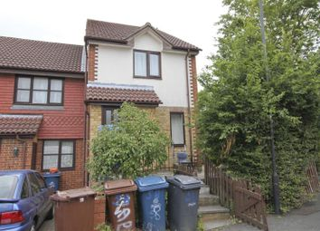Thumbnail 1 bed end terrace house to rent in Greenacre Close, Northolt, Middlesex