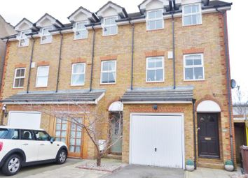 Thumbnail 3 bed town house for sale in Garfield Road, London