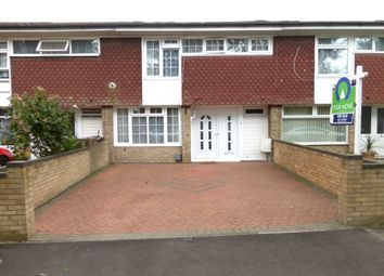 Thumbnail 3 bedroom terraced house for sale in Carnell Close, Kempston, Bedford