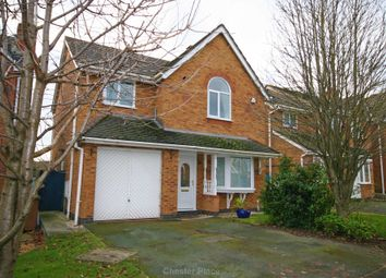 Thumbnail 4 bed detached house to rent in Thornhill Close, Broughton, Chester