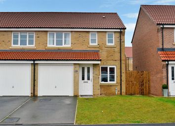 3 bed semi-detached house for sale in Braeburn Road, Sherburn In Elmet, Leeds LS25