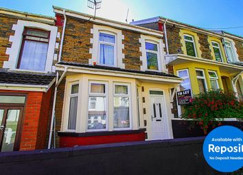 Thumbnail 5 bed shared accommodation to rent in Bertha Street, Treforest, Pontypridd