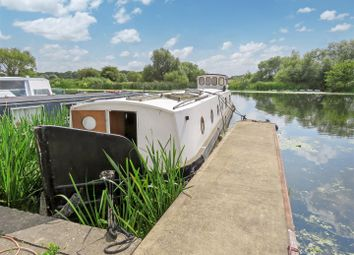 Thumbnail 1 bed houseboat for sale in Banks End, Wyton, Huntingdon, Cambridgeshire