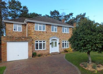 Thumbnail 4 bed detached house to rent in Adams Drive, Fleet