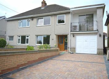 Thumbnail 4 bedroom semi-detached house for sale in Woodlands, Gowerton, Swansea