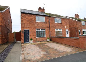 Thumbnail 2 bed semi-detached house for sale in Russell Avenue, New Balderton, Newark