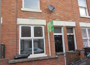 Thumbnail 2 bed terraced house to rent in Grove Road, Leicester