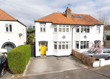 Thumbnail 3 bed semi-detached house for sale in Endsleigh Gardens, Hersham, Walton-On-Thames