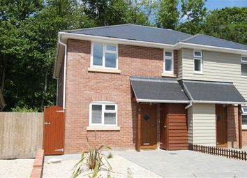 Thumbnail 3 bed semi-detached house for sale in Manning Avenue, Highcliffe, Christchurch, Dorset