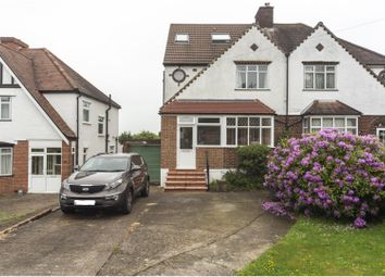 Thumbnail 4 bed semi-detached house for sale in York Road, South Croydon