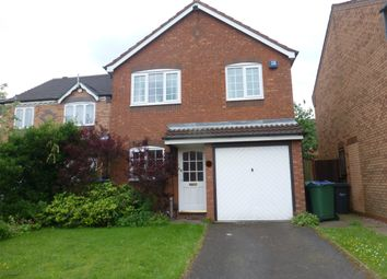 Thumbnail 3 bed detached house to rent in Woodruff Way, Walsall