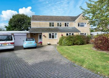 Thumbnail 4 bed detached house for sale in Sawyers Close, Minety, Malmesbury