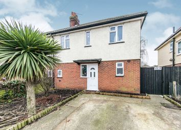 Thumbnail 2 bed semi-detached house for sale in Landseer Road, Ipswich