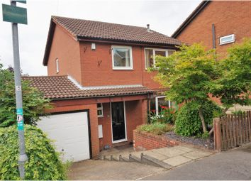 Thumbnail 3 bed detached house for sale in Elliston Avenue, Barnsley