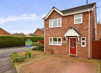 Thumbnail 3 bed detached house for sale in Priorylands, Stretton, Burton-On-Trent