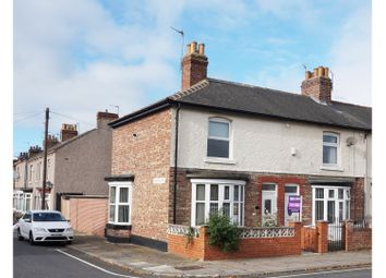 Thumbnail 3 bedroom end terrace house for sale in Mansfield Avenue, Thornaby, Stockton-On-Tees