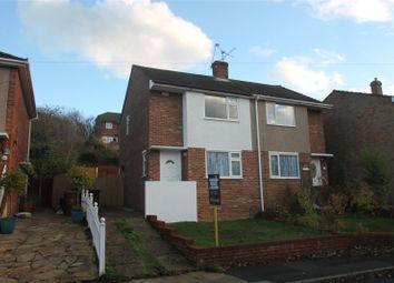 Thumbnail 2 bedroom semi-detached house for sale in Hook Close, Davis Estate, Chatham, Kent