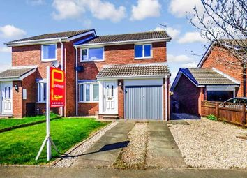 Thumbnail 3 bed semi-detached house for sale in Castle Way, Pegswood, Morpeth