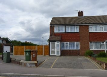 Thumbnail 3 bed semi-detached house to rent in Mayplace Road East, Bexleyheath