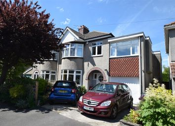 Thumbnail 4 bed semi-detached house for sale in Queens Drive, Bishopston, Bristol