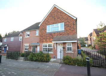 Thumbnail 4 bed semi-detached house for sale in East Hundreds, Fleet