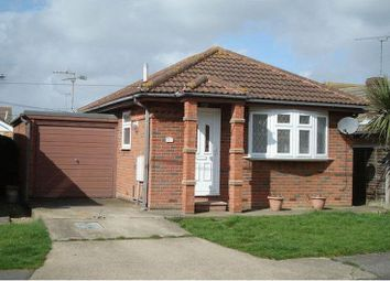 Thumbnail 1 bed bungalow for sale in Hannett Road, Canvey Island