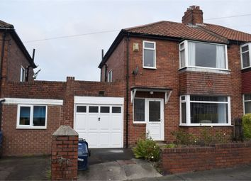 Thumbnail 3 bed semi-detached house for sale in Lanercost Drive, Newcastle Upon Tyne, Tyne And Wear