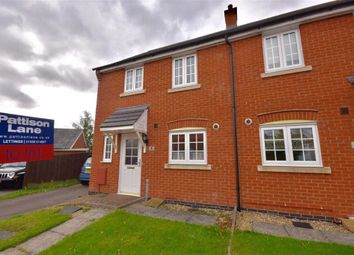 Thumbnail 3 bed town house to rent in Chaffinch Road, Desborough, Kettering