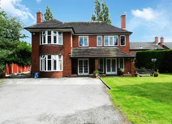Thumbnail 4 bed detached house for sale in Shaw Street, Culcheth, Warrington