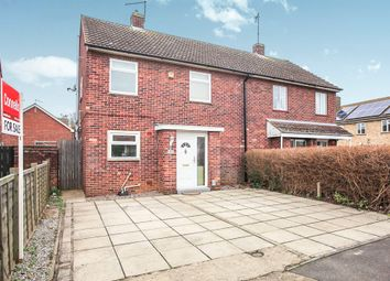 Thumbnail 3 bed semi-detached house for sale in Malvern Road, Gunthorpe, Peterborough