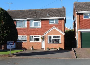 Thumbnail 3 bed semi-detached house for sale in Cherry Tree Road, Kingswinford