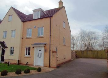 Thumbnail 3 bedroom town house for sale in Horsford, Norwich, Norfolk