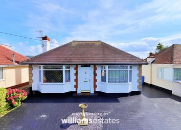 Thumbnail 2 bed detached bungalow for sale in Victoria Road West, Prestatyn
