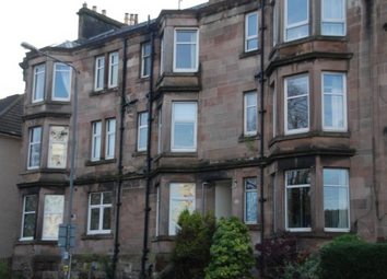 Thumbnail 1 bed flat to rent in Cardwell Road, Gourock Unfurnished